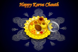 Puja Thali for Karva Chauth