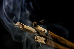 BURN 'AGARBATTIS'/ INCENSE STICKS ALL OVER THE HOUSE